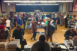 RECORD LOVERS UNITE!:  Check out the SLO Record Swap on Nov. 7 in the SLO Grange Hall, complete with a beer garden, food vendors, live DJs, and live painting. - PHOTO COURTESY OF MANUEL BARBA