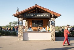 BREW YEAH:  Not into wine? Cold local beer is on tap at Vina Robles. - PHOTO COURTESY OF VINA ROBLES AMPTHEATRE