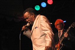 SOUL MAN :  Charles Walker delivers a blistering set of old-school soul on the main stage. - PHOTO BY GLEN STARKEY