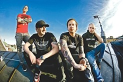 SWEDISH PUNK LOVE :  Epitaph Records pop punk sensations Millencolin plays March 16 at Downtown Brew. - PHOTO COURTESY OF MILLENCOLIN