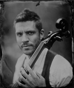 FOUR STRINGS:  Denver-based cellist Ian Cooke plays Linnaea's Café on Aug. 6. - PHOTO COURTESY OF IAN COOKE