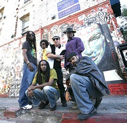 DREAD RANGERS:   LA reggae act Dread Daze plays Frog and Peach on May 22. - PHOTO COURTESY OF DREAD DAZE