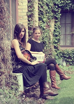 IRISH UP:  Sam 'n Ash are part of The Celtic Collective, playing Aug. 10 in the Red Barn. - PHOTO COURTESY OF SAM 'N ASH