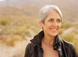 THE MANY FACES OF JOAN :  Joan Baez will celebrate her 50-year career on July 7 with a very special, intimate evening at the Clark Center Theater. - PHOTO COURTESY OF JOAN BAEZ