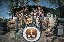 OUTLAWS! :  Lorin Walker Madsen & The Hustlers bring their dangerous country sounds to The Pour House on Aug. 6. - PHOTO BY AXLE PRESTON PRICE ETHINGTON