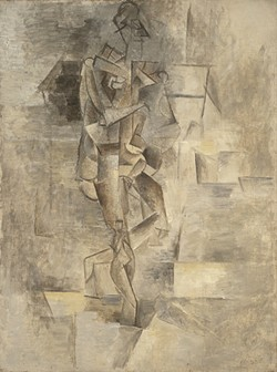 FEMALE NUDE, 1910: - ARTWORK BY PABLO PICASSO, COURTESY OF THE SANTA BARBARA MUSEUM OF ART