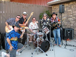 THEY'RE AN AMERICAN BAND:  The Cliffnotes, a six-piece act fronted by Cliff Stepp, will play good old fashion American rock and blues on July 5 at Eagle Castle Winery. - PHOTO COURTESY OF THE CLIFFNOTES