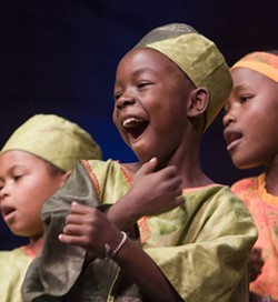 PURE JOY! :  The African Children's Choir is sure to melt your heart with their smiles and beautiful voices as they perform lively African songs and dances on Feb. 26 in the PAC. - PHOTO COURTESY OF THE AFRICAN CHILDREN'S CHOIR