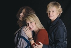WOMEN OF THE KNIGHT :  (Left to right) Deborah Holland, Wendy Waldman,and Cindy Bullens are The Refugees. - PHOTO COURTESY OF THE REFUGEES