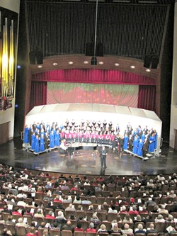 EVVV-ERYBODY!:  There will be a good old fashioned Sing-Along at the Performing Art Center on Dec. 22. - PHOTO COURTESY OF PERFORMING ARTS CENTER