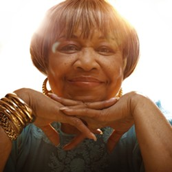 THE GOSPEL ACCORDING TO MAVIS :  Legendary gospel and R&B singer Mavis Staples closes out the Live Oak Music Festival (June 17 to 19) this year with a performance on June 19 at Camp Live Oak near Cachuma Lake. - PHOTO COURTESY OF MAVIS STAPLES