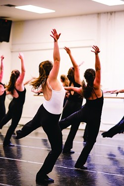 JAZZ HANDS:  The San Luis Jazz Dancers move as one body. - PHOTO BY HENRY BRUINGTON