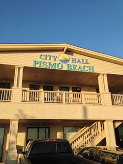 Pismo Beach City Hall - PHOTO BY RHYS HEYDEN