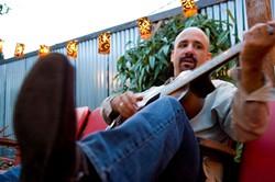 FURTADO RETURNS!:  Americana slide guitarist, banjo master, and singer-songwriter Tony Furtado plays March 9 at Shell Café. - PHOTO COURTESY OF TONY FURADO