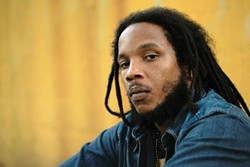 MARLEY'S GHOST :  Stephen Marley, son of reggae legend Bob, plays unplugged on Feb. 21 at the Graduate during a multi-band reggae event. - PHOTO COURTESY OF STEPHEN MARLEY