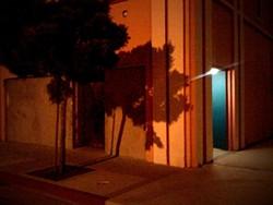 PARKING GARAGE SHADOWS: - PHOTO BY STEVE E. MILLER