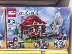 LEGO AT TOM'S TOYS: - PHOTO BY COLIN RIGLEY