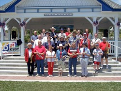 PATRIOTS! :  Get your 4th started right on July 4 with spirited concert band music from ever-popular Village Band at the Rotary Bandstand in the Village of Arroyo Grande. - PHOTO COURTESY OF VILLAGE BAND