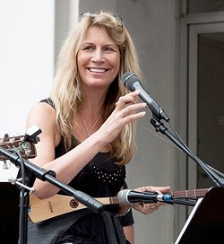 GYPSY NEWGRASS :  Santa Barbara resident Susan Marie Reeves brings her original sound to Kreuzberg showcase on Aug. 16. - PHOTO COURTESY OF SUSAN MARIE REEVES