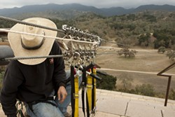 WHEEEEE!:  With a nod from San Luis Obispo County supervisors, operations like the zip line at Santa Margarita Adventures will receive better definition in county code books. - FILE PHOTO BY STEVE E. MILLER