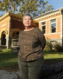 HEARST CASTLE'S INDIANA JONES :  Elise Wheeler, archaeologist and president of the SLO County Historical Society, will lead a workshop about Cultural Landscapes on Jan. 12. - PHOTO BY STEVE E. MILLER