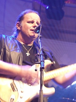 CATCH TROUT! :  Stunning blues guitarist Walter Trout brings his blistering licks to Downtown Brew on April 30, with local prog rock favs The Travis Larson Band opening. - PHOTO COURTESY OF WALTER TROUT