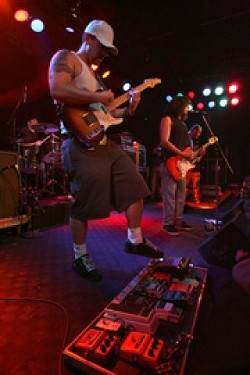 GENRE JUMPERS :  Blending rock, reggae, and surf music, The Expendables play Sept. 27-28 at Downtown Brew. - PHOTO BY STEVE LEONTIE