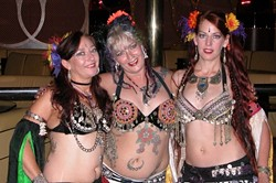 COMING TOGETHER :  Bellydancers of all different styles and tribes gather on Dec. 15 and 16 at the SLO Vets Hall for the Fourth Annual Tribal Fusion Faire, and you're invited, too. - PHOTO COURTESY OF THE TRIBAL FUSION FAIRE