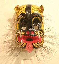 JAGUAR MASK:  From Mexico - GLEN STARKEY