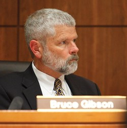 DISTRICT 2, BRUCE GIBSON:  2007 grants of $1,000 and more: - SLO County Creek Day Planning Comm. $1,000 - Los Osos Community Advisory Council $2,500 - Cambria CSD $2,480 - North Coast Advisory $1,925 - SLO Mozart Festival $2,000 - Cambria Parking Lot Fund $6,493 - Source: SLO County Board of Supervisors - PHOTO BY STEVE E. MILLER