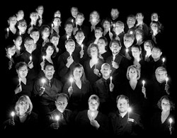A SEA OF FACES :  The Choral Project from San Jose. - PHOTO COURTESY OF THE CHORAL PROJECT