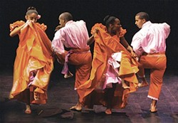 TAKE A TRIP TO PERU :  Peru Negro and its 20-piece ensemble plays March 16 at the SLO PAC. - PHOTO COURTESY OF CAL POLY ARTS