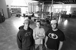 SKATE OR SURF OR BOARD OR DIE! :  One Way Board Shop is the latest board shop to arrive on the local scene. Owners and brothers Dan and Dave Pankratz are celebrating their San Luis Obispo store opening on Sept. 15. - IMAGE BY STEVE E. MILLER