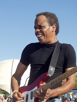 LEFT COAST STYLE :  Blues guitar ace James Armstrong headlines the SLO Blues Society's Sept. 15 show at the SLO Vets Hall. - PHOTO COURTESY OF JAMES ARMSTRONG