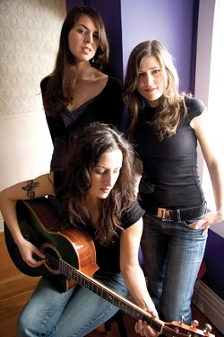 WOMEN'S SONG :  The Wailin' Jennys (pictured) of Canada share the bill on April 12 with L.A.'s Amilia K. Spicer in the Cohan Center on the Cal Poly campus. - PHOTO COURTESY OF WAILIN' JENNYS