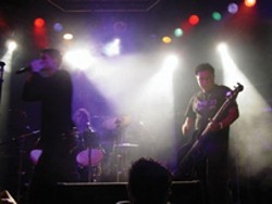 SMOKE AND MIRRORS :  Hard rocking Soulprint plays Hoovers on April 21 with DC Hotel. - PHOTO COURTESY OF SOULPRINT