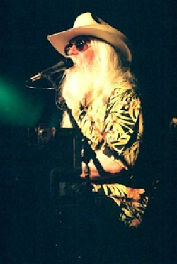 MUSIC DEMIGOD :  Leon Russell is nothing short of amazing. Experience his genius on June 24 at Downtown Brew. - PHOTO COURTESY OF LEON RUSSELL