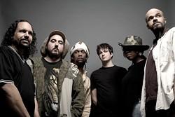 DREAD KNOT :  Los Angeles-based reggae-hip-hop-soul act Dread Daze plays April 11 at Frog and Peach. - PHOTO COURTESY OF DREAD DAZE