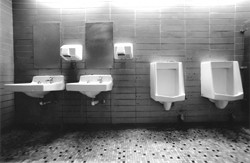 HIGHWAY 101 PUBLIC RESTROOM:  Third Place - MATTHEW REED