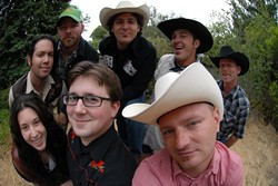 COUNTRY COMBO :  Penny Jar and Red Eye Junction join forces for a rip-roaring country show at Sweet Springs Saloon on Dec. 7. - PHOTO BY MATT PETERSON