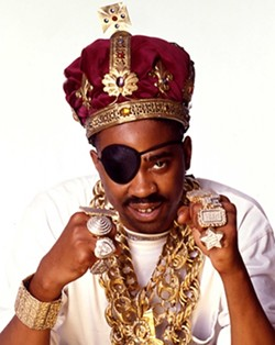 THE SLICKEST :  Proto pimp rapper Slick Rick plays the Graduate on Oct. 13. - PHOTO COURTESY OF SLICK RICK