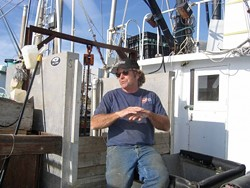 FAIRER FOR SEAFARERS? :  Many long-time Morro Bay fishermen, such as Bob Maharry (pictured), would like to see local resources managed for local fishermen, so they can fish closer to home. - PHOTO BY KATHY JOHNSTON