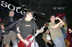 METAL-TASTIK :  After a two-year hiatus, local metal act Esoterik has reformed and plays Downtown Brew's Grass Roots Tuesdays on July 3. Rock on, boys! - PHOTO COURTESY OF ESOTERIK