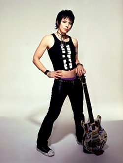 PURE JETT :  Joan Jett and the Blackhearts will pump out the hits during a free performance at the Mid-State Fair on Thursday, July 26. - PHOTO COURTESY OF JOAN JETT