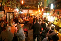 YOUR INNER LEPRECHAUN :  Everyone is a little Irish at McCarthy's. - PHOTO BY CHRISTOPHER GARDNER