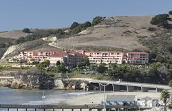 YOURS FOR A GRAND? :  The SLO County Board of Supervisors agreed to hold public, eBay-style auctions for properties with delinquent property taxes, such as more than a dozen timeshare suites at San Luis Bay Inn in Avila Beach. - PHOTO BY STEVE E. MILLER