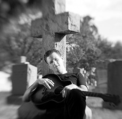 WHAT A LIFE! :  Bluesman and Hollywood darling Jake La Botz headlines a show on the Tent City Stage in Atascadero's historic Colony District on Friday, July 20. - PHOTO COURTESY OF JAKE LA BOTZ