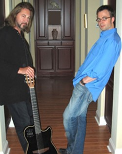 CLASSICAL, MEET ROCK :  Steve Miller Band guitarist Kenny Lee Lewis joins Moscow Conservatory-trained pianist Rudolf Budginas for a mash-up at the Clark Center on Sept. 7. - PHOTO COURTESY OF KENNY LEE LEWIS AND RUDOLF BUDGINAS