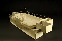 "LIBRARY REVIVAL :  Cal Poly Architecture student Laura Male's library model will be displayed at ""Libraries of the Future."" - PHOTO COURTESY OF THE CAL POLY ARCHITECTURE DEPARTMENT"