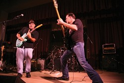 RIP ROARING BLUES :  The Jerome Washington Express releases its new album Live at the SLO Vets Hall on Feb. 28 at Frog and Peach. - PHOTO COURTESY OF THE JEROME WASHINGTON EXPRESS